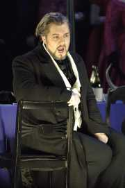 Baritone James Westman as Giorgio Germont, La Traviata, Boston Lyric Opera, 2006