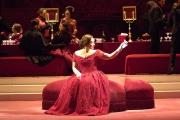 Soprano Dina Kuznetsova as Violetta, La Traviata, Boston Lyric Opera, 2006