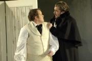 Tenor Garrett Sorenson as Alfredo and baritone James Westman as Giorgio Germont, La Traviata, Boston Lyric Opera, 2006