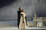Baritone James Westman as Giorgio Germont and soprano Dina Kuznetsova as Violetta, La Traviata, Boston Lyric Opera, 2006