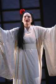 Butterfly (soprano Kelly Kaduce), Madama Butterfly, Boston Lyric Opera, 2006