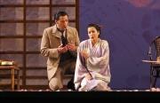 The American consul, Sharpless (baritone Carlos Archuleta) and Suzuki (mezzo-soprano Melina Pineda), Madama Butterfly, Boston Lyric Opera, 2006