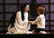 Butterfly (soprano Kelly Kaduce) and her son, Sorrow (7 year-old Christina Yee of Boston), Madama Butterfly, Boston Lyric Opera, 2006