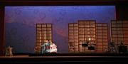Butterfly (soprano Kelly Kaduce) and her maid Suzuki (mezzo-soprano Melina Pineda), Madama Butterfly, Boston Lyric Opera, 2006