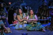 Soprano Sarah Asmar as Crobyle and mezzo-soprano Erica Brookhyser as Myrtale, Thaïs, Boston Lyric Opera, 2006
