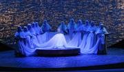 Soprano Kelly Kaduce as Thaïs with the ladies chorus, Thaïs, Boston Lyric Opera, 2006