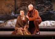 Mimì (soprano Alyson Cambridge) and Marcello (baritone Timothy Mix), La Boheme, Boston Lyric Opera, 2007