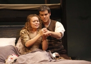Mimì (soprano Alyson Cambridge) and Rodolfo (tenor Derek Taylor), La Boheme, Boston Lyric Opera, 2007