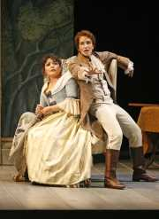 Soprano Ailyn Pérez (Susanna) and mezzo-soprano Kate Lindsey (Cherubino), Le nozze di Figaro, Boston Lyric Opera, 2007