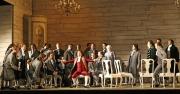 King Gustavus (tenor Julian Gavin) and the chorus of Un ballo in maschera, Un ballo in maschera, Boston Lyric Opera, 2007