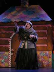 The wicked Witch casts a spell on Hansel and Gretel, Hansel and Gretel, Boston Lyric Opera, 2008