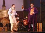 Nemorino (tenor Eric Cutler) and Dulcamara (bass Dale Travis), L'eliser d'amore, Boston Lyric Opera, 2008