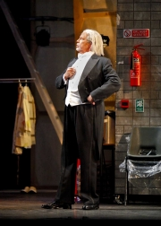 , Ariadne auf NaxosThe Music Master (baritone Jake Gardner) contemplates his young composer's big debut scheduled for that evening., Boston Lyric Opera, 2010