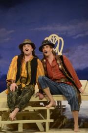 Paul Appleby, Matthew Worth, Cosi Fan Tutte, 2013 Boston Lyric Opera