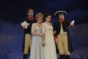 Matthew Worth, Caroline Worra, Sandra Piques Eddy, Paul Appleby, Cosi Fan Tutte, 2013 Boston Lyric Opera