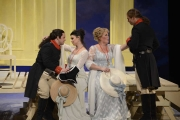 Paul Appleby, Sandra Piques Eddy, Caroline Worra, Matthew Worth, Cosi Fan Tutte, 2013 Boston Lyric Opera