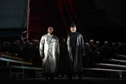 Alfred Walker (The Dutchman) and Gregory Frank (Donald), The Flying Dutchman, Boston Lyric Opera, 2013