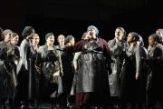 Ann McMahon Quintero (Mary) and The Flying Dutchman Chorus, The Flying Dutchman, Boston Lyric Opera, 2013