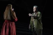 Allison Oakes (Senta) and Chad Shelton (Georg), The Flying Dutchman, Boston Lyric Opera, 2013
