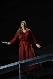 Allison Oakes (Senta), The Flying Dutchman, Boston Lyric Opera, 2013
