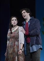 Zach Borichevsky and Deborah Selig, Boston Lyric Opera, The Magic Flute, OCT 2013