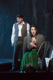 """(l.-r.) Alex Richardson and Sandra Piques Eddy in Boston Lyric Opera's """"Werther,"""" running March 11-20 at the Citi Shubert Theater"""