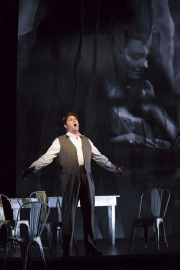 """Alex Richardson as the title character in Boston Lyric Opera's """"Werther,"""" running March 11-20 at the Citi Shubert Theater"""