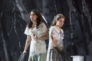"""(l.-r.) Sandra Piques Eddy and Rachele Gilmore in Boston Lyric Opera's """"Werther,"""" running March 11-20 at the Citi Shubert Theater"""