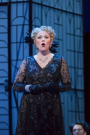 Erin Wall, as Hanna Glawari, in Boston Lyric Opera's new production of The Merry Widow running April 29-May 8 at the Citi Shubert Theater.