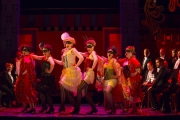 Ensemble members from Boston Lyric Opera's new production of The Merry Widow double as the grisettes – young bohemian French women – who perform the operetta's iconic dance number. The Merry Widow runs April 29-May 8 at the Citi Shubert Theater.