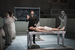 BURKE'S BODY -- After his conviction and execution for murder, William Burke's body is brought to the school of anatomy, where he becomes a different kind of public spectacle in Boston Lyric Opera's world premiere production of THE NEFARIOUS, IMMORAL BUT HIGHLY PROFITABLE ENTERPRISE of MR. BURKE and MR. HARE by composer Julian Grant and librettist Mark Campbell. Runs Nov 8-12; details at BLO.org.