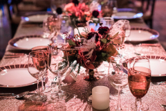Table Setting at the BLO Gala, Boston Lyric Opera, November 10, 2017