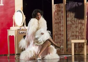 "Countess Almaviva (Nicole Heaston) in Boston Lyric Opera's new production of ""The Marriage of Figaro"" running through May 7 at John Hancock Hall"