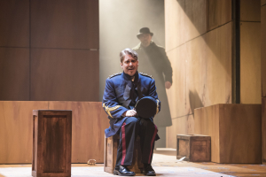 Daniel Belcher is Chief of Police Tiger Brown in the Boston Lyric Opera's production of Weill and Brecht's THE THREEPENNY OPERA, running March 16-25 at the Huntington Avenue Theatre.  BLO.org.