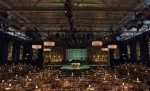 Boston Lyric Opera transformed Boston's Steriti Memorial Rink into a jazzy nightclub straight out of 1950s Manhattan for its production of TROUBLE IN TAHITI/ARIAS AND BARCAROLLES, playing thru May 20.  Tickets www.BLO.org