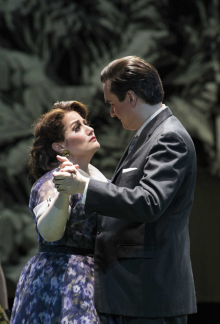 Heather Johnson and Marcus DeLoach in Boston Lyric Opera's TROUBLE IN TAHITI/ARIAS AND BARCAROLLES, playing thru May 20.  Tickets www.BLO.org