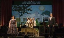 – The cast of Boston Lyric Opera's TROUBLE IN TAHITI/ARIAS AND BARCAROLLES, playing thru May 20.  Tickets www.BLO.org