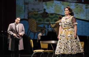 "Heather Johnson as ""Dinah"" in Boston Lyric Opera's TROUBLE IN TAHITI/ARIAS AND BARCAROLLES, playing thru May 20.  Tickets www.BLO.org"