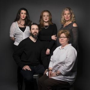 l-r Chelsea Basler, David Cushing, Jennifer Johnson Cano, Maria Zifchak, Caroline Worra