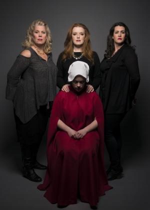 l-r Caroline Worra, Jennifer Johnson Cano, Chelsea Basler