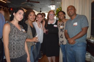 BLO PRIMA members at a Sangria Social event