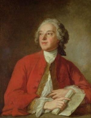 Pierre Augustin Caron de Beaumarchais, portrait by Jean-Marc Nattier (circa 1755).