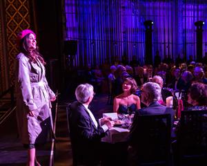 Emerging Artist Chelsea Basler sings at the 2015 Opera Gala.
