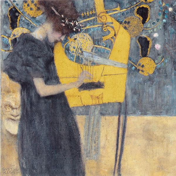 Musik I by Klimt