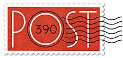 Post 390 logo