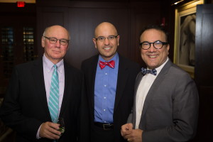 BLO: Werther - Opening Night, March 11, 2016: Brain Gokey, Nelson Thaemert and Russell Lopez