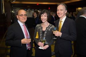BLO: Werther - Opening Night, March 11, 2016: Valéry Freland, Elizabeth Barker and Joseph Glenmullen