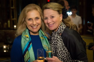 BLO: Werther - Opening Night, March 11, 2016: Catherine Gerson and Tania Zouikin