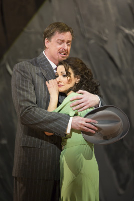 "(l.-r.) John Hancock and Sandra Piques Eddy in Boston Lyric Opera's ""Werther,"" running March 11-20 at the Citi Shubert Theater -- Photo: T. Charles Erickson"