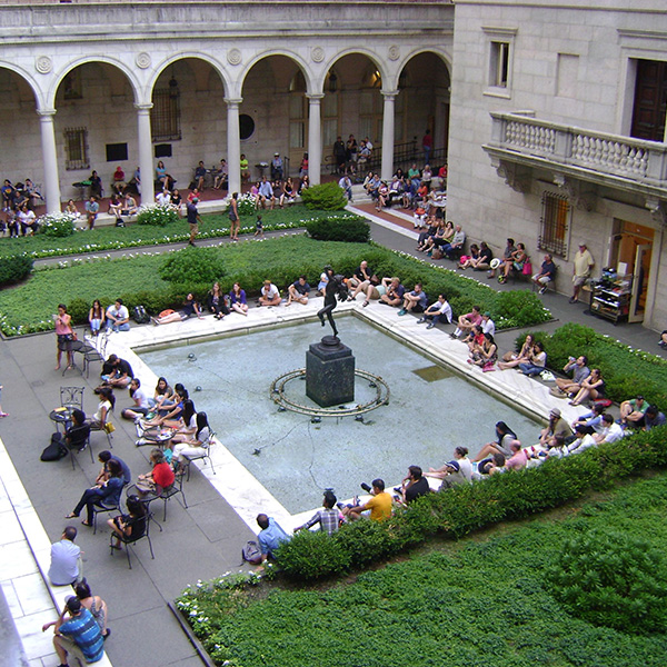 Boston Public Library Wedding: BLO Presents A Concert In The Courtyard At BPL